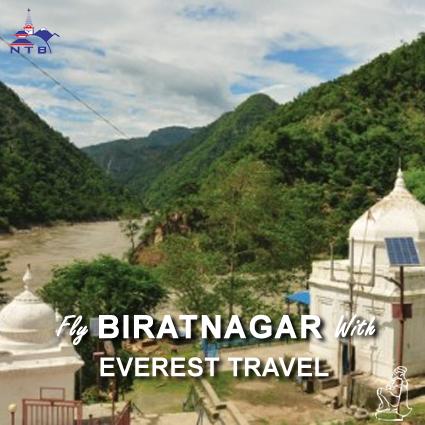Fly Biratnagar with Everest Travel