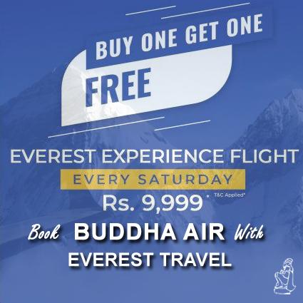 Buddha air mountain flight