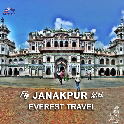 Fly to Janakpur with Everest Travel