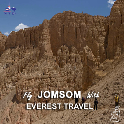 Fly to Jomsom with Everest Travel