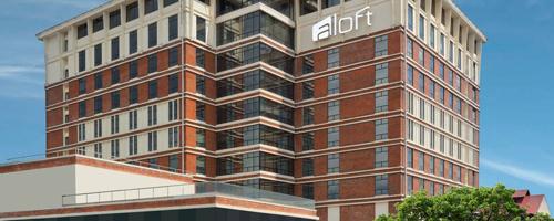 Aloft hotel building