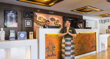 Hotel Shambala lobby
