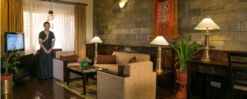 Hotel Tibet Intl lobby image