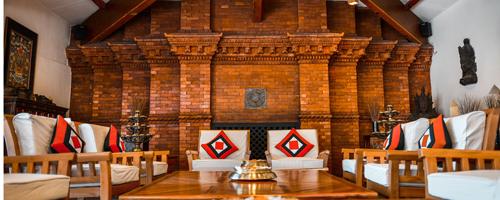 Dwarika's Hotel lobby