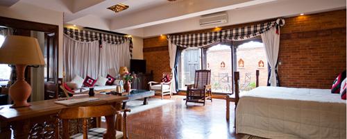 Dwarika's hotel royal-suite