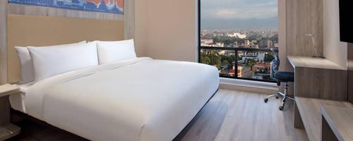 Aloft Kathmandu Thamel king loft guestroom